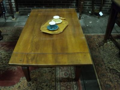 Indische teakhouten salontafel (1970)