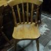 Grenen caféstoelen
